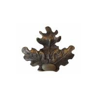 Ornament Frunza Stejar din bronz