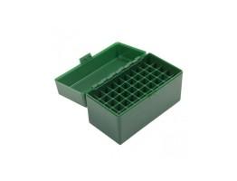 Cutie Verde Plastic Pt. Cartuse Cal 6mm