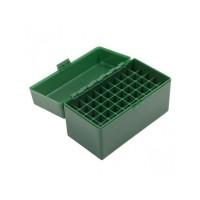 Cutie Verde Plastic Pt. Cartuse Cal 9mm